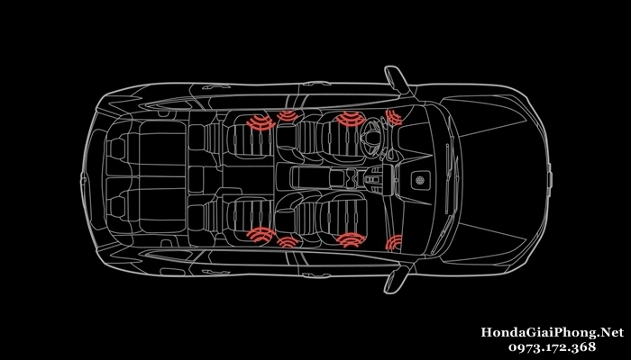 C34 noi that xe honda crv 7 cho 1 5 turbo viet nam he thong am thanh 8 loa speakers