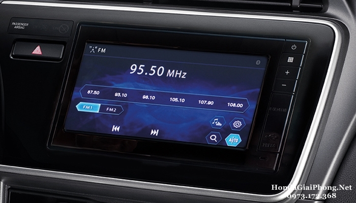 C21 noi that xe honda city 2018 man hinh cam ung 6 8 inches