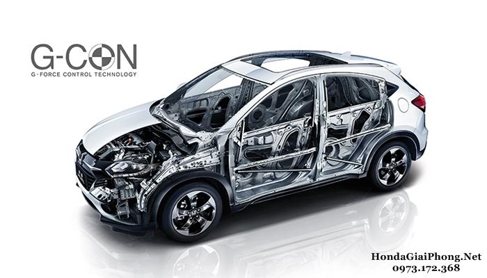 E10 an toan xe honda hrv 2018 khung xe g con