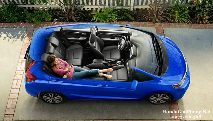 C10 noi that xe honda jazz 2018 refresh mode che do thu gian
