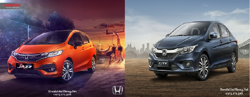 honda city top vs honda jazz rs