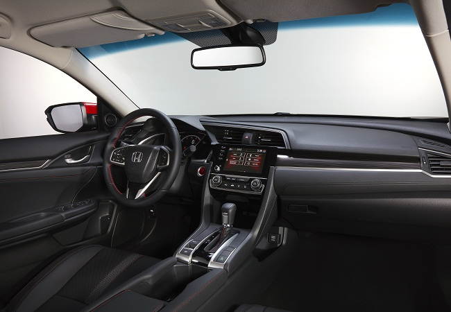 Cabin honda civic rs 2019 1