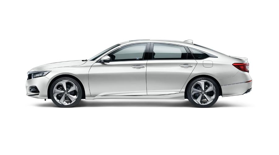 Honda accord mau trang