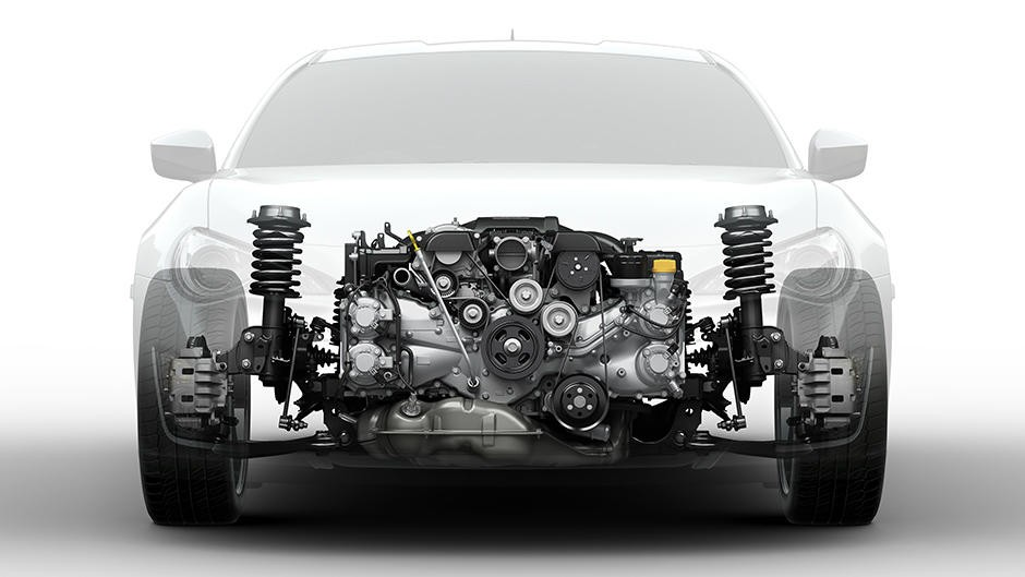 third-generation-subaru-four-cylinder-boxer-engine